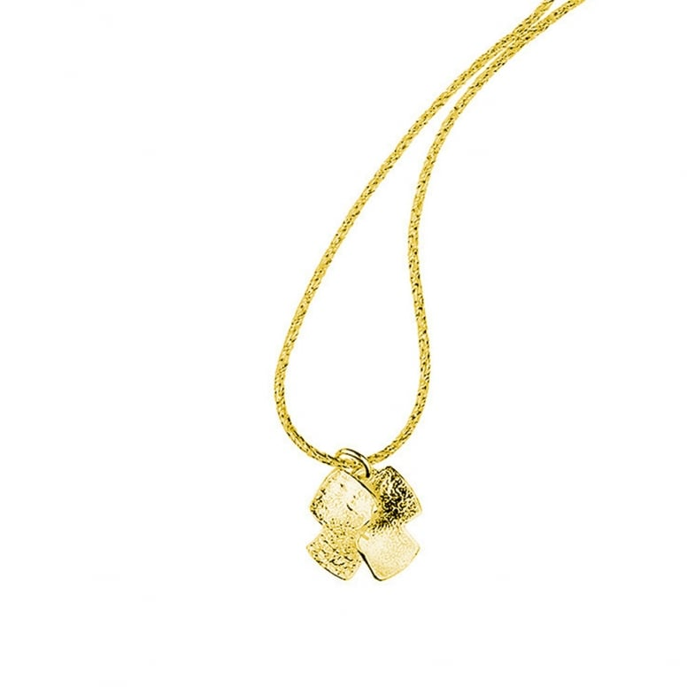 Bedrock Small Flower Pendant