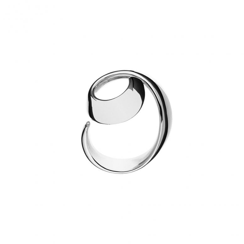 Curve Spiral Ring