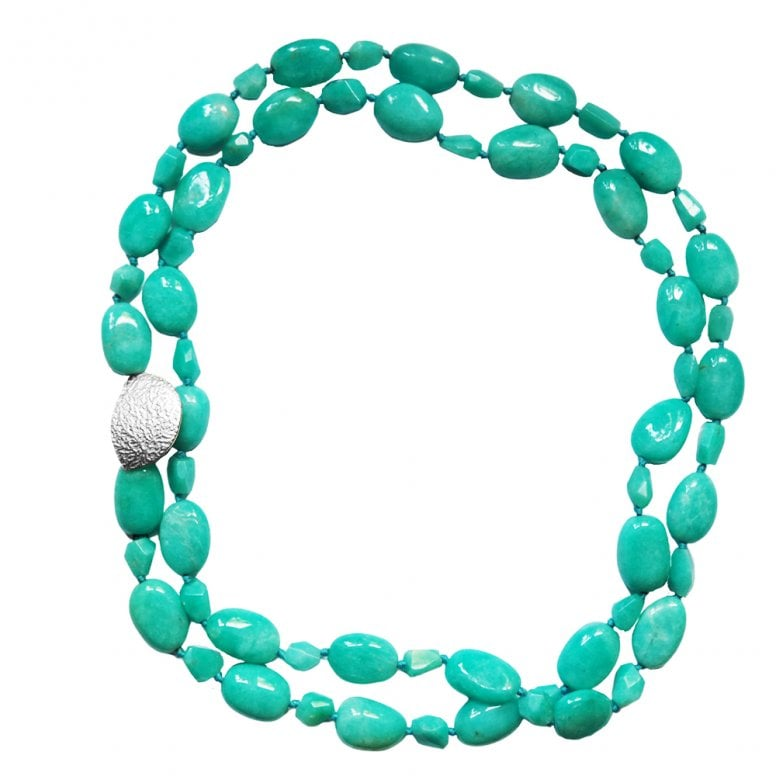 Summer Dreaming Amazonite Stone Necklace