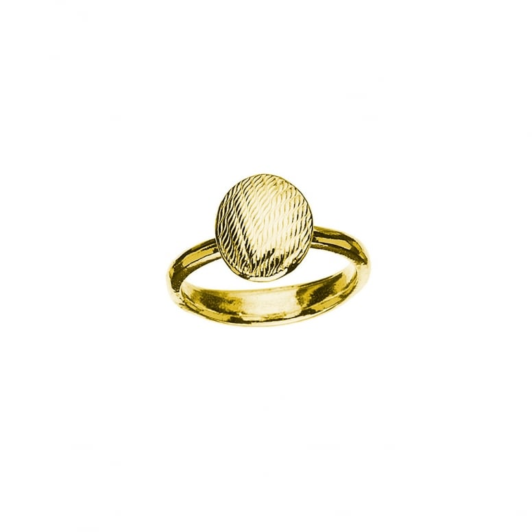 Tweed Fine Oval Ring