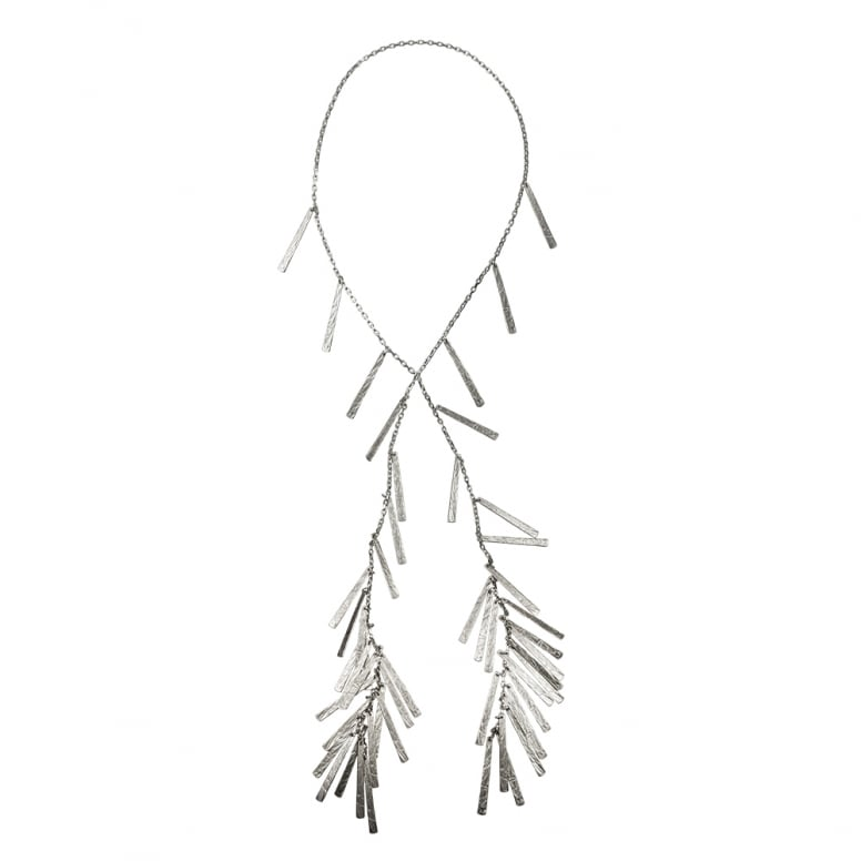 Unravelled Fringe Necklace
