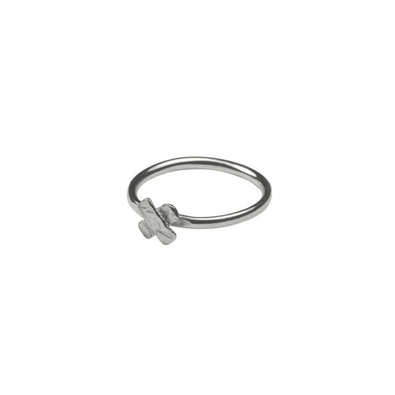 Unravelled Tiny Cross Ring