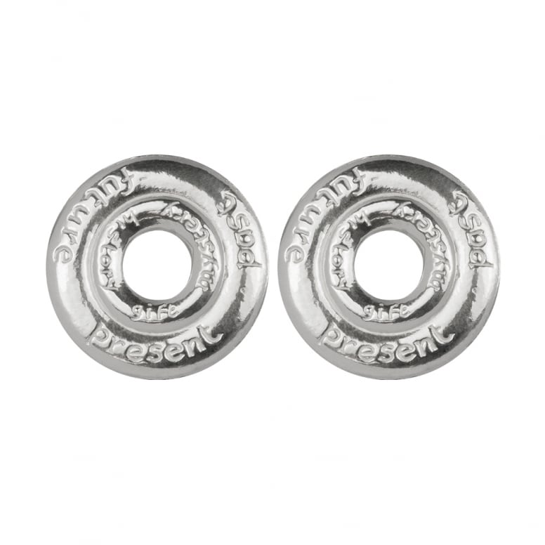 Wisdom Double Polo Clip Earrings