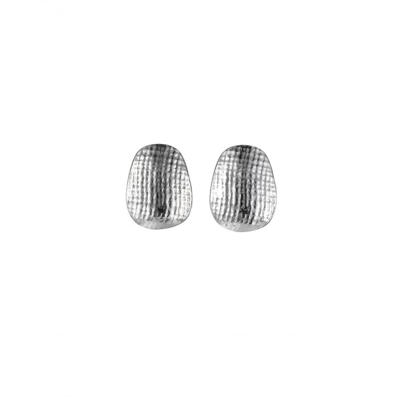 Woven Small Tapered Earrings